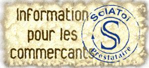 Informations pour les commerçants