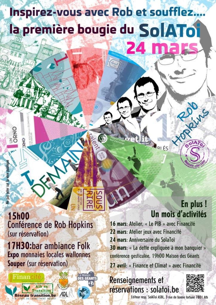 Affiche premier anniversaire du SolAToi