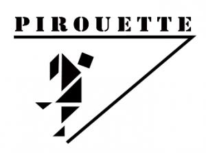 """logo Ludothèque """"Pirouette"""""""
