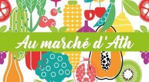 """Logo de """"Au marché d'Ath"""""""