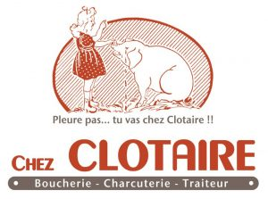 """logo Boucherie """"Chez Clotaire"""""""