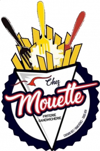 """Logo de """"Friterie chez Mouette"""""""